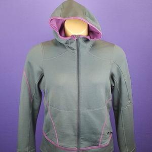 Womans mountain hardwear full zip hooded sweatshir